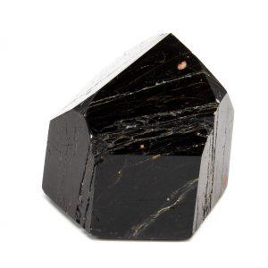 Polished Black Tourmaline with Hematite Generator-199663