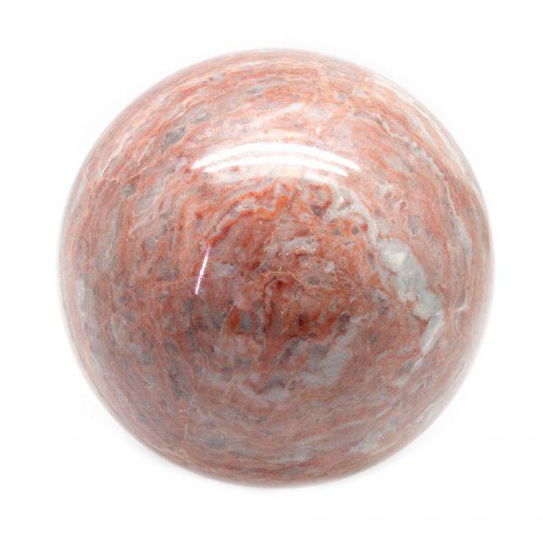 Red Jasper Sphere (100-110 mm)-0