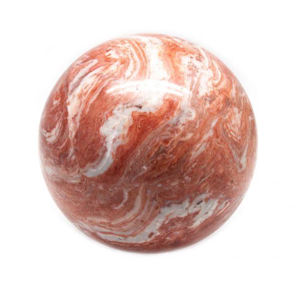Red Jasper Sphere (100-110 mm)-199416