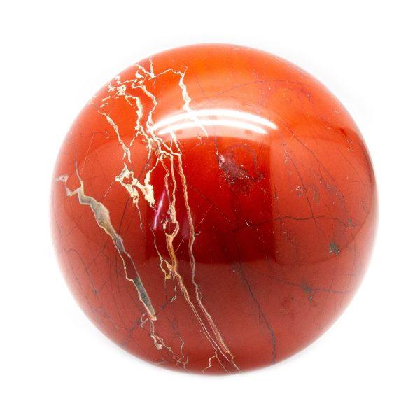 Deep Red Jasper Sphere (100-110 mm)-199423