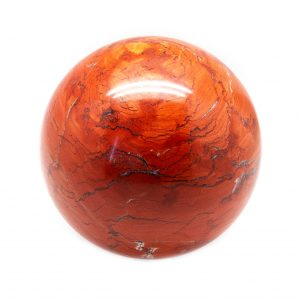 Deep Red Jasper Sphere (100-110 mm)-0