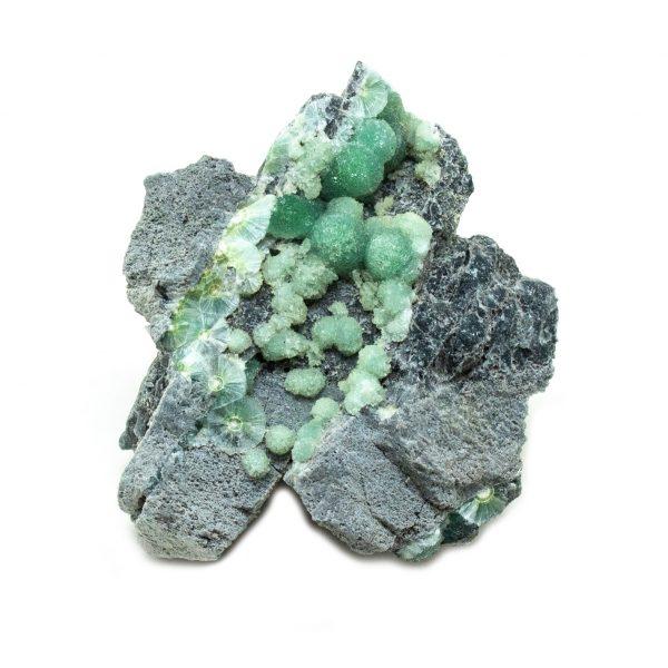 Botryoidal Wavellite Cluster-201047