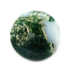 Polished Moss Agate Cabochon-0