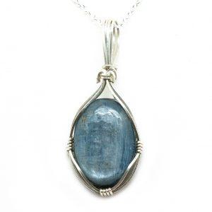 Blue Kyanite Pendant-0