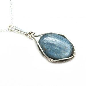 Blue Kyanite Pendant-200432