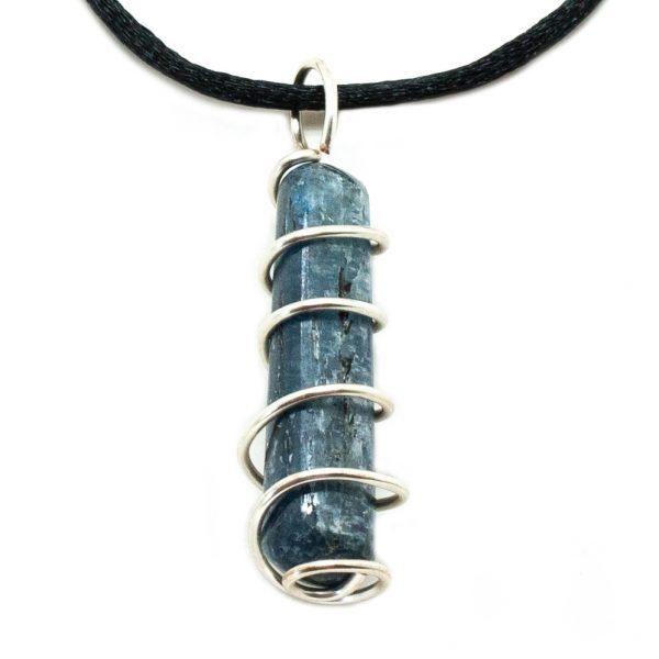 Blue Kyanite Vortex Pendant (Medium)-200474