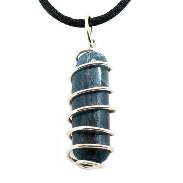 Blue Kyanite Vortex Pendant (Medium)-200472