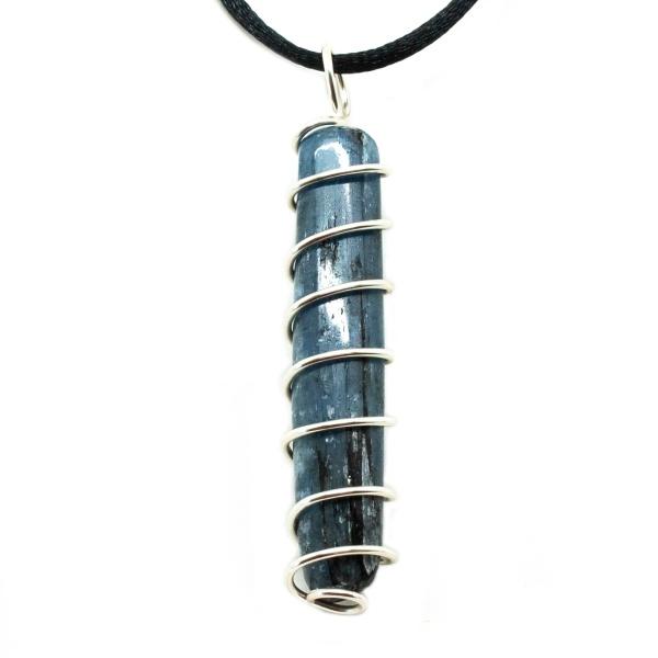Blue Kyanite Vortex Pendant (Large)-200480