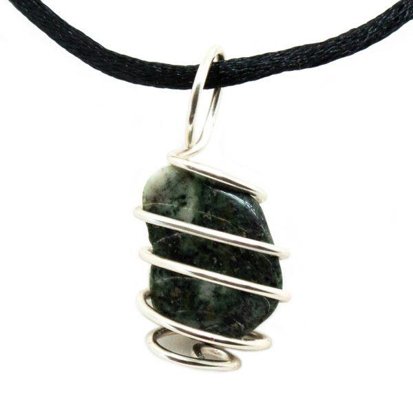 Preseli Bluestone Vortex Pendant (Small)-200701