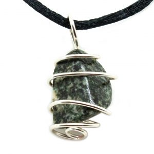 Preseli Bluestone Vortex Pendant (Medium)-0