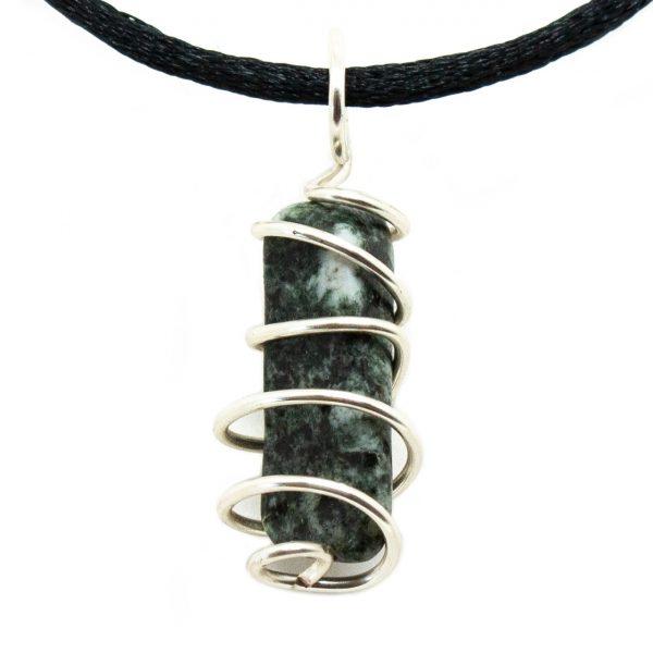 Preseli Bluestone Vortex Pendant (Medium)-200707