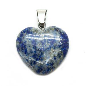 Lapis Lazuli Heart Pendant-0