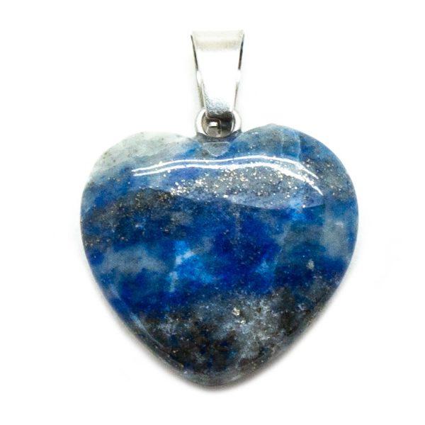 Lapis Lazuli Heart Pendant-200731