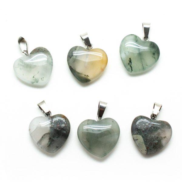 Crystal Heart Pendant Set-0