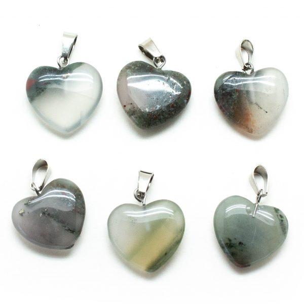 Crystal Heart Pendant Set-200750