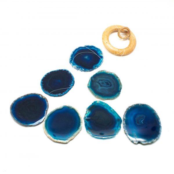 Blue Agate Wind Chime-200906