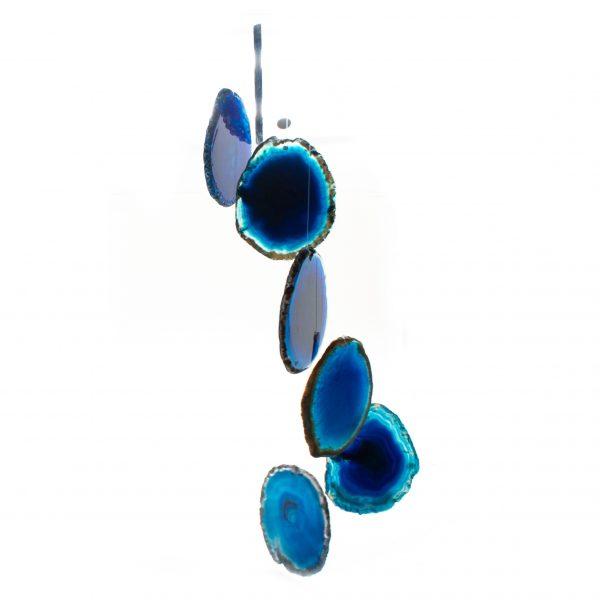 Blue Agate Wind Chime-200905