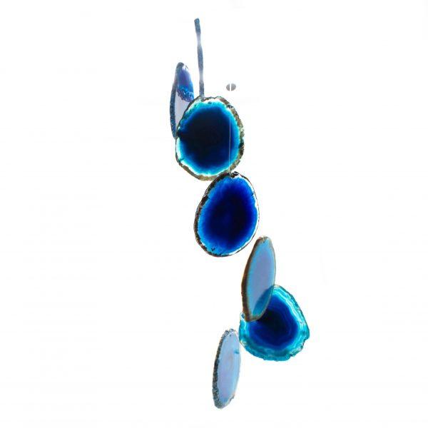 Blue Agate Wind Chime-0