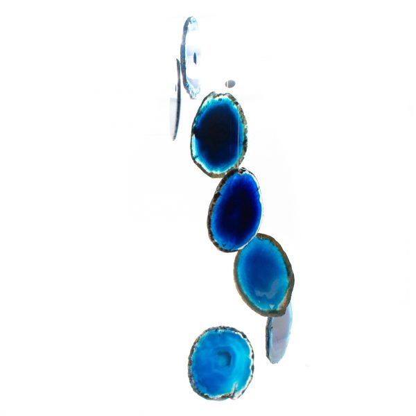 Blue Agate Wind Chime-200907