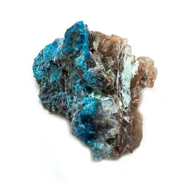 Shattuckite Cluster with Chrysocolla and Azurite-201492