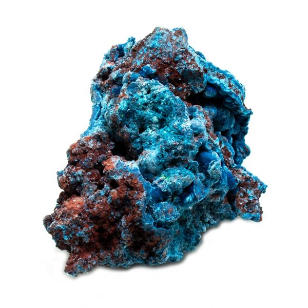 Shattuckite Cluster with Chrysocolla and Azurite-201557