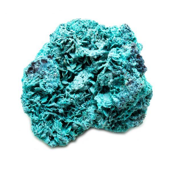 Shattuckite Cluster with Chrysocolla and Azurite-201566