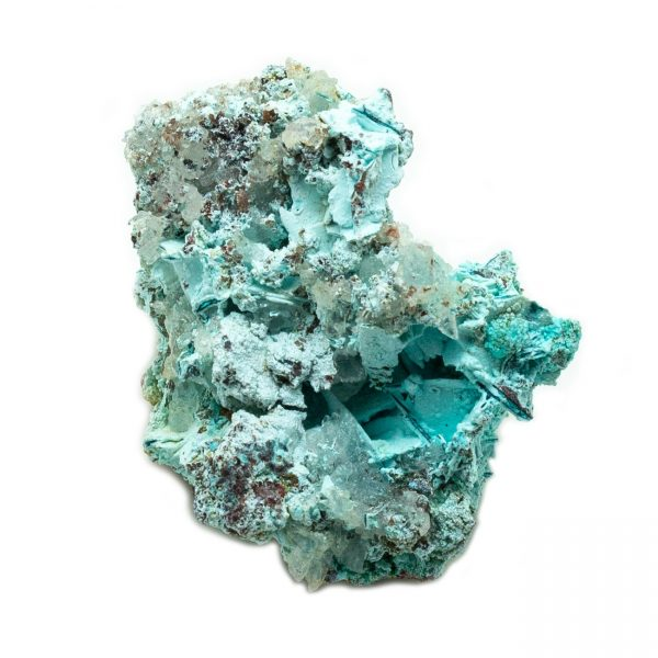 Shattuckite Cluster with Chrysocolla and Azurite-201573