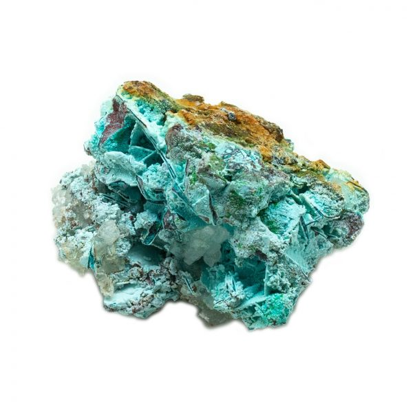 Shattuckite Cluster with Chrysocolla and Azurite-201572
