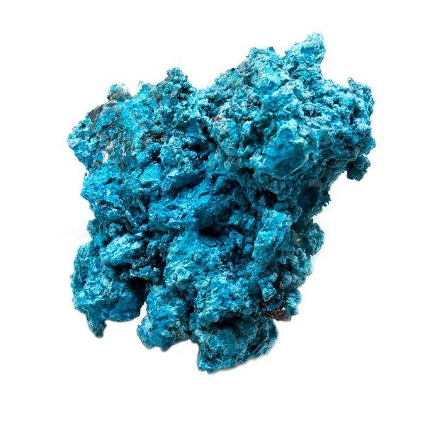 Shattuckite Cluster with Chrysocolla and Azurite-201632