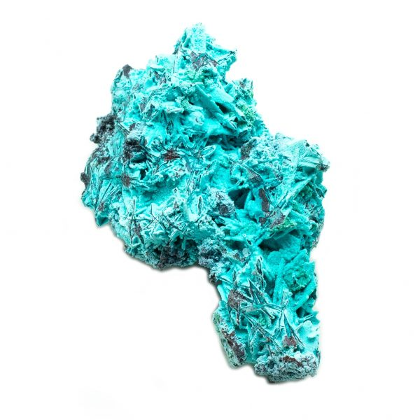 Shattuckite Cluster with Chrysocolla and Azurite-201641