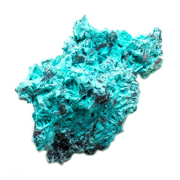 Shattuckite Cluster with Chrysocolla and Azurite-201642