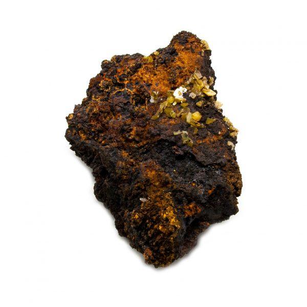 Wulfenite and Mimetite Cluster-203610