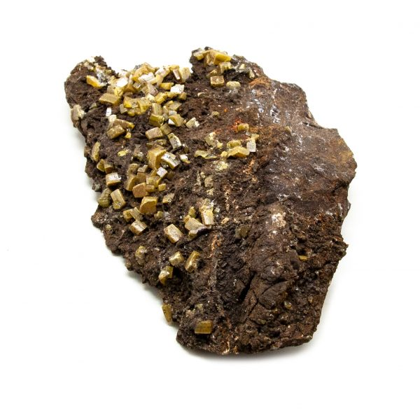 Wulfenite and Mimetite Cluster-203623