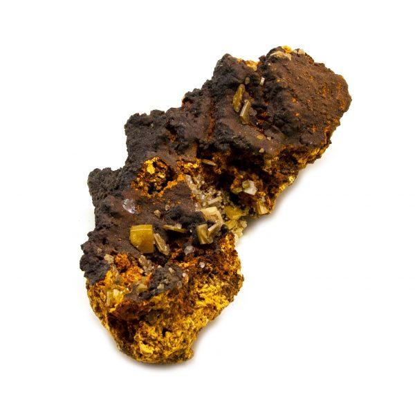 Wulfenite and Mimetite Cluster-203633