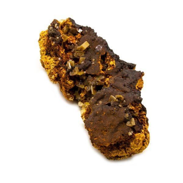 Wulfenite and Mimetite Cluster-203634