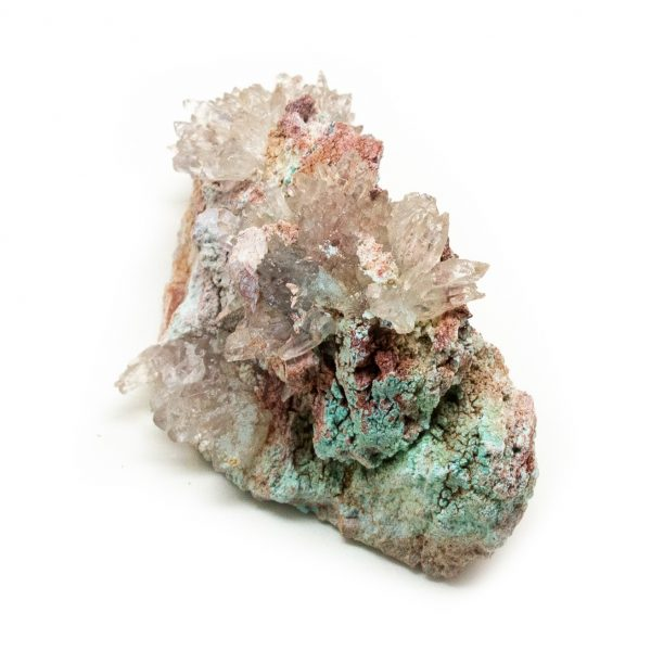 Shattuckite Cluster with Chrysocolla and Azurite-204034