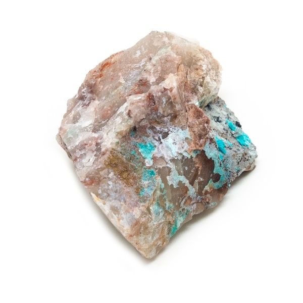 Shattuckite Cluster with Chrysocolla and Azurite-204041