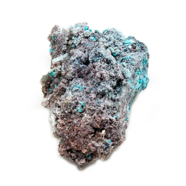 Shattuckite Cluster with Chrysocolla and Azurite-204042
