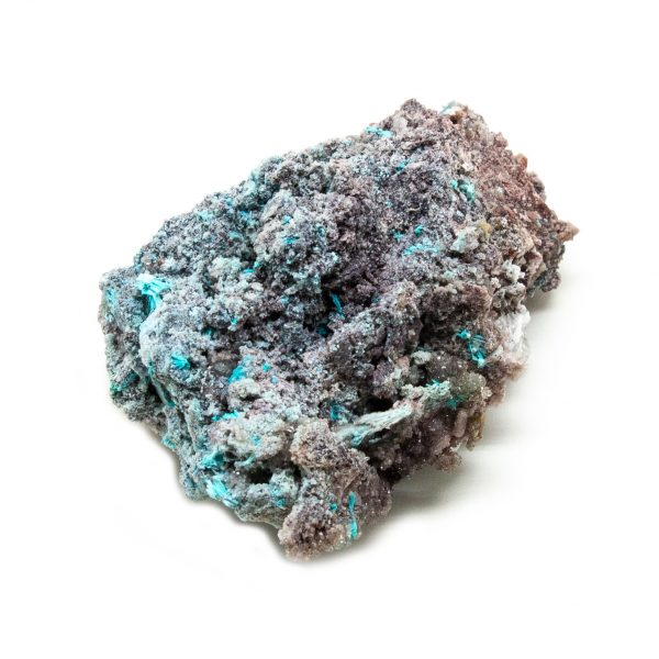 Shattuckite Cluster with Chrysocolla and Azurite-204044