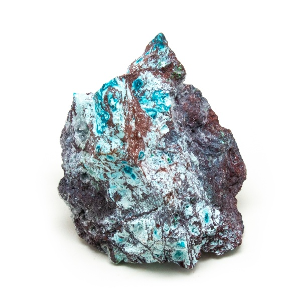 Shattuckite Cluster with Chrysocolla and Azurite-204046