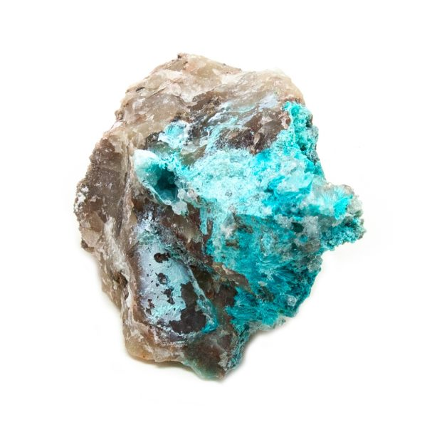 Shattuckite Cluster with Chrysocolla and Azurite-204053