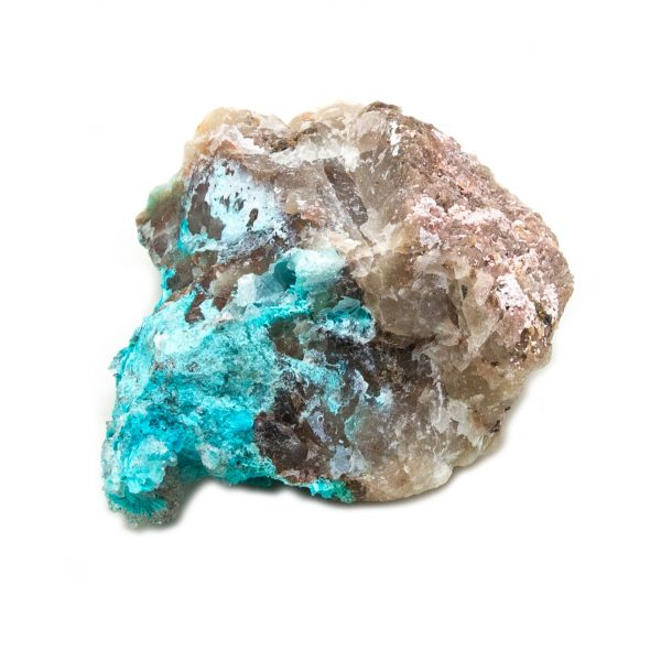 Shattuckite Cluster with Chrysocolla and Azurite-204051