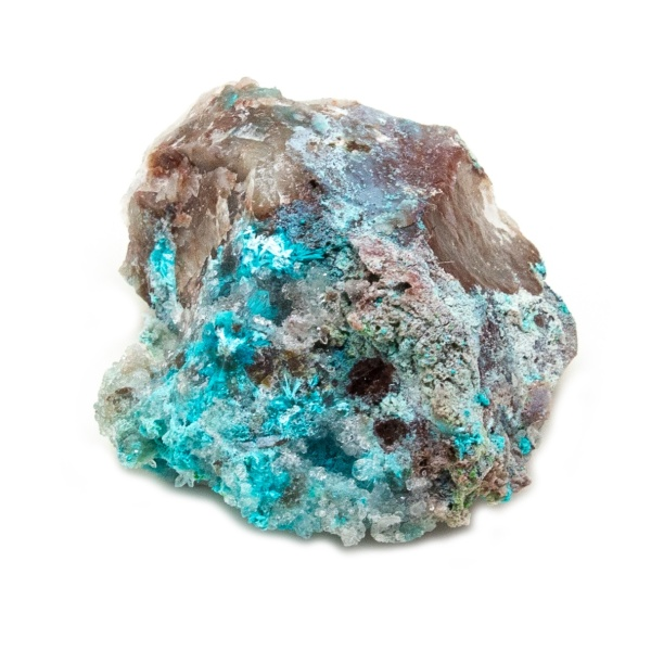 Shattuckite Cluster with Chrysocolla and Azurite-204059