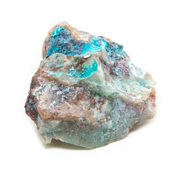 Shattuckite Cluster with Chrysocolla and Azurite-204061