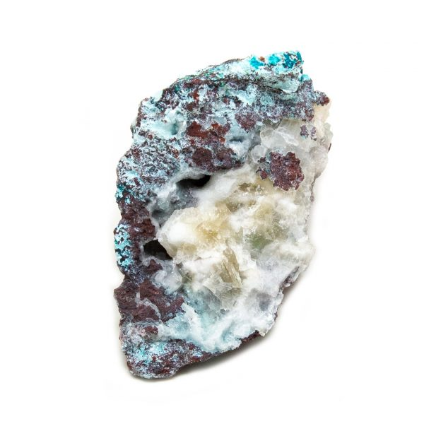 Shattuckite Cluster with Chrysocolla and Azurite-204070