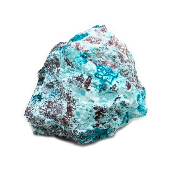Shattuckite Cluster with Chrysocolla and Azurite-204073