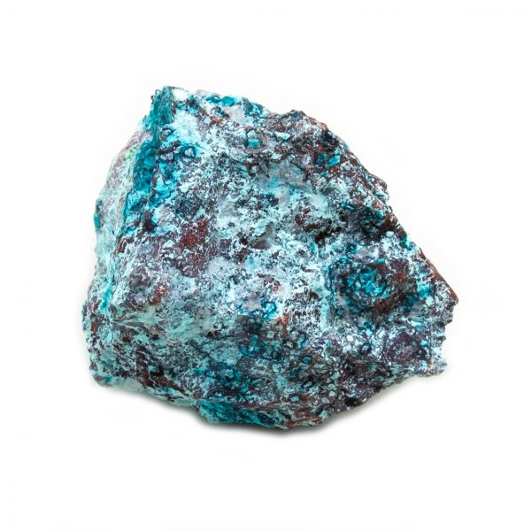 Shattuckite Cluster with Chrysocolla and Azurite-204074