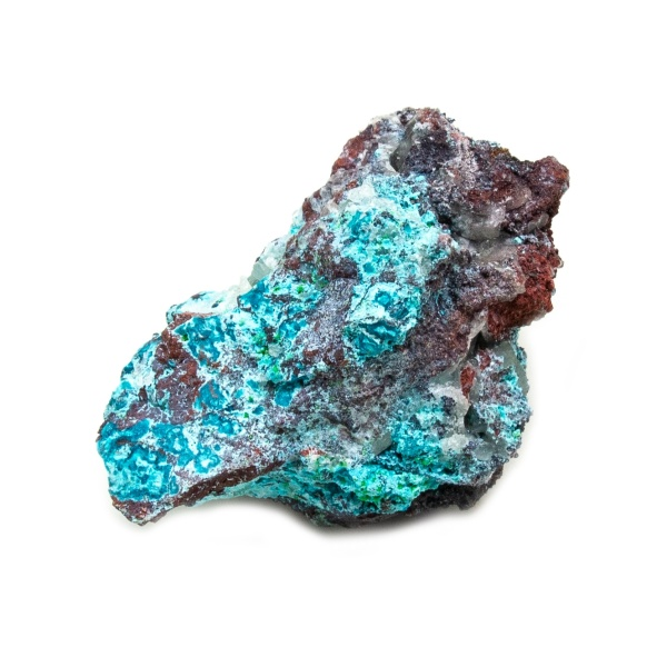 Shattuckite Cluster with Chrysocolla and Azurite-0