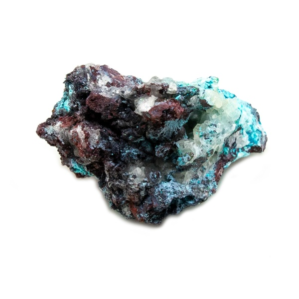 Shattuckite Cluster with Chrysocolla and Azurite-204075