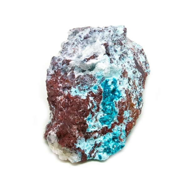 Shattuckite Cluster with Chrysocolla and Azurite-204083